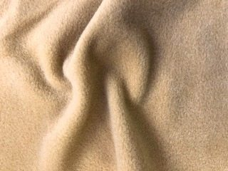 beige polar fleece