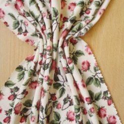 T-Shirting Fabric Mountain Rose cream
