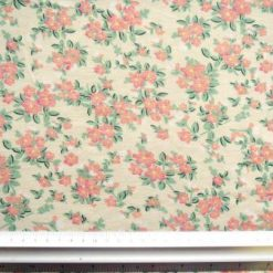 T-Shirting Fabric Sweet William cream