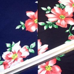 T-Shirting Fabric Climbing Flower