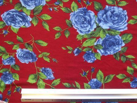 T-Shirting Fabric Glamour Rose wine