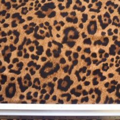 Lycra Patterned Fabric Statement Lynx