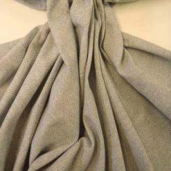 Indigo Cotton Linen Look Suiting Fabric