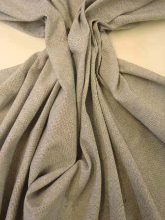 Indigo Cotton Linen Look Suiting Fabric