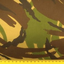 Camouflage Fabric Army Green