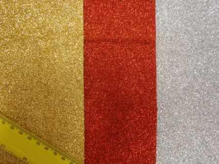 glitter felt fabric