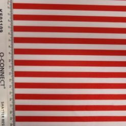 red and white striped lycra