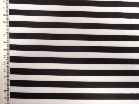 black and white striped lycra