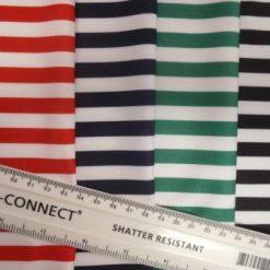 striped lycra