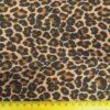 Lycra Patterned Fabric Leopard