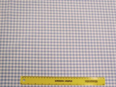 6mm pale blue gingham
