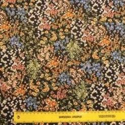 Crepe De Chine Fabric Garden Of Eden