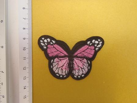 sew on motifs 2018 shaded pink butterfly
