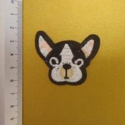 sew on motif dog head