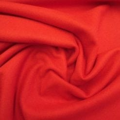 Melton Coating Fabric red