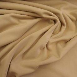 Scuba Jersey Fabric Light Weight Beige