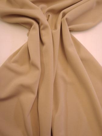 Seersucker Crepe Fabric Nude