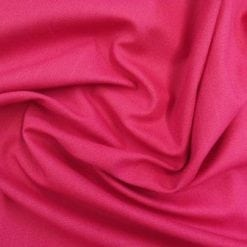 cerise linen look cotton