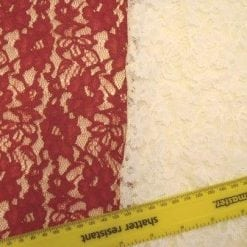 Lace Fabric Heavy Corded