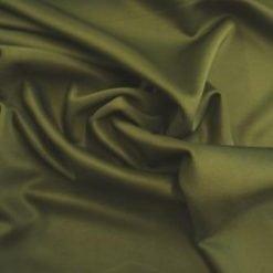 Scuba Jersey Fabric Khaki