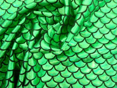 Emerald Fish Scales Mermaid Tails