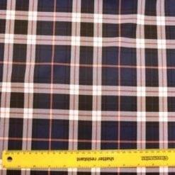 Tartan Suiting Fabric Hampshire Tartan