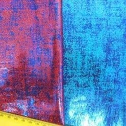 tweed foiling lycra