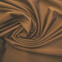 Lycra Fabric Brown Polyester Spandex High Shine