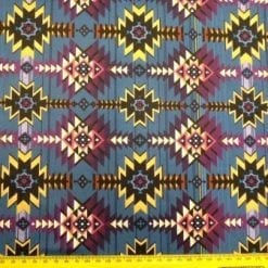 Lycra Patterned Fabric Hippy Hiawatha