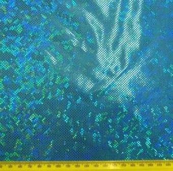 Turquoise Hologram