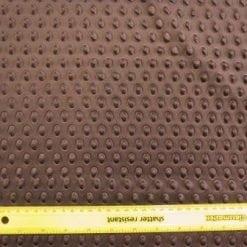 Scuba Jersey Fabric Brown Armadillo