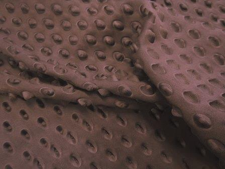 Scuba Jersey Fabric Brown Armadillo