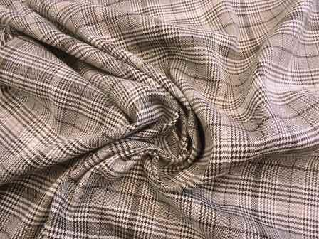 Suiting Fabric Lowland Check