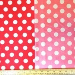 Lycra Patterned Fabric Mini Mouse Spot