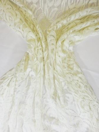 Lace Fabric Field Of Dreams Ivory