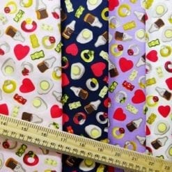 Cotton Fabric Jelly Sweets Ballibo