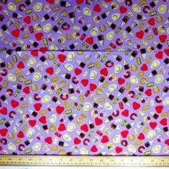 Cotton Fabric Jelly Sweets Ballibo