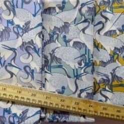 Cotton Fabric Stork Fest