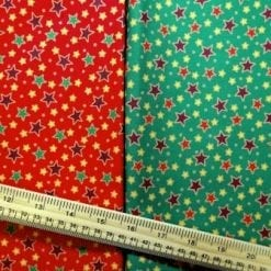 Christmas Cotton Fabric Follow The Stars