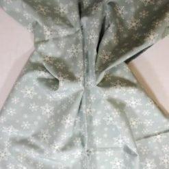 Christmas Cotton Fabric Snow Flakes grey