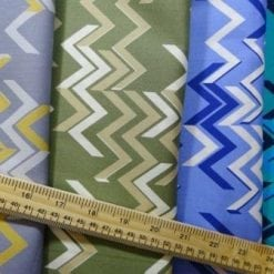 Cotton Fabric Chevrons