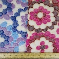 Huggable Fleece Fabric Flower