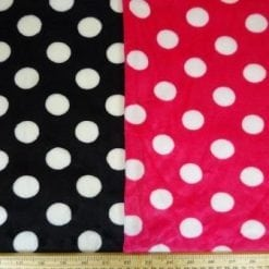 Winter Fleece Fabric Spot