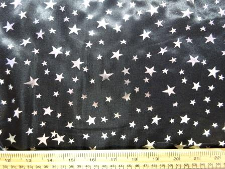 Satin Stars Fabric Wizard Foil Polyester