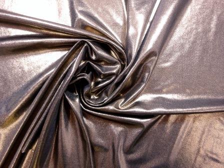 Lycra Foil Fabric Metallic