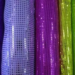 Sequin Jersey Fabric 5mm Spot Lurex