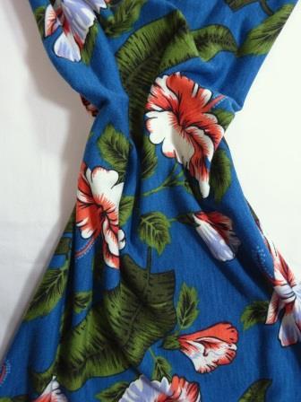 Jersey Fabric T-Shirting Orchid Fiesta petrol