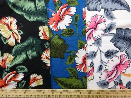 Jersey Fabric T-Shirting Orchid Fiesta
