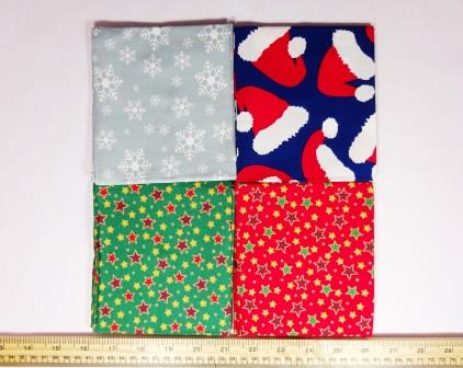 patchwork fat quarters follow the star