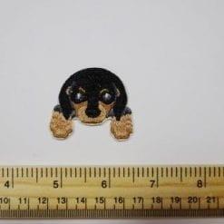 Dog Selection Sew On Motifs black